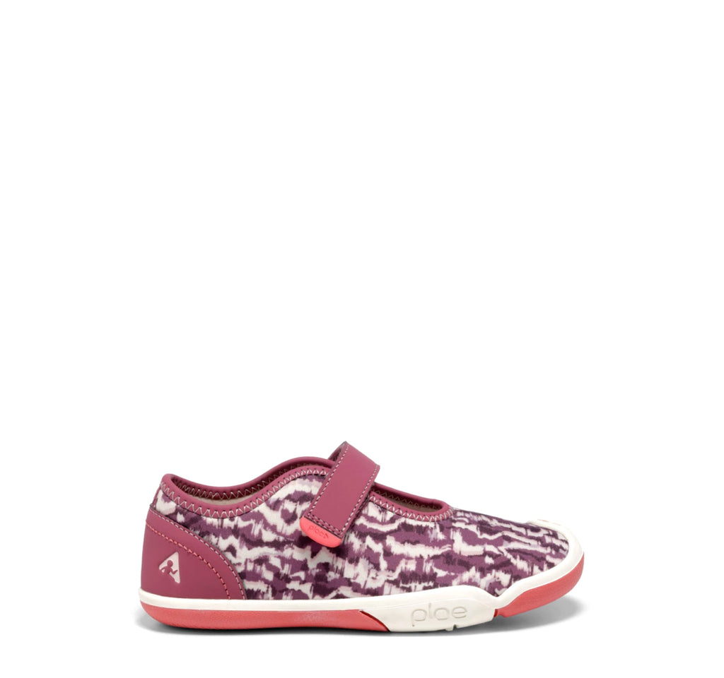 Plae Chloe Sneaker in Imperial Garnet - Plae - On The EDGE