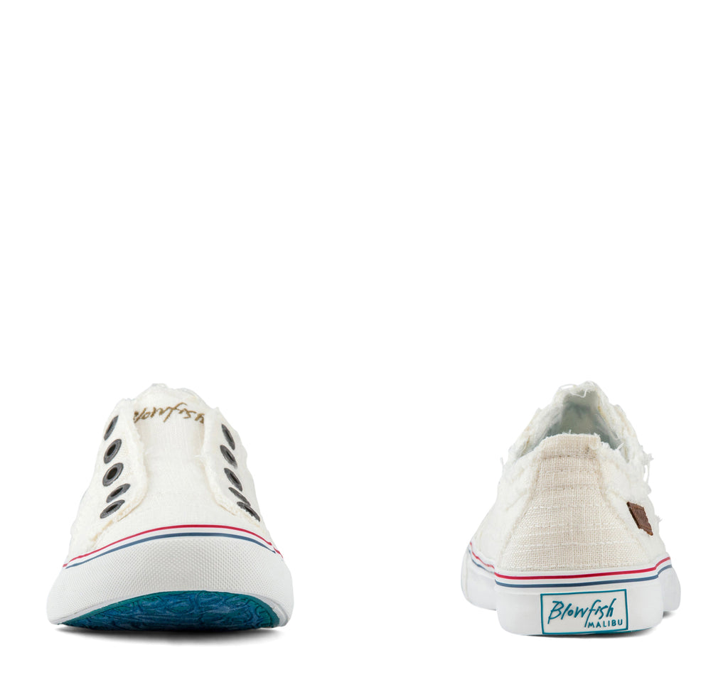 Blowfish Play Slip-On Sneaker in White - Blowfish Malibu - On The EDGE