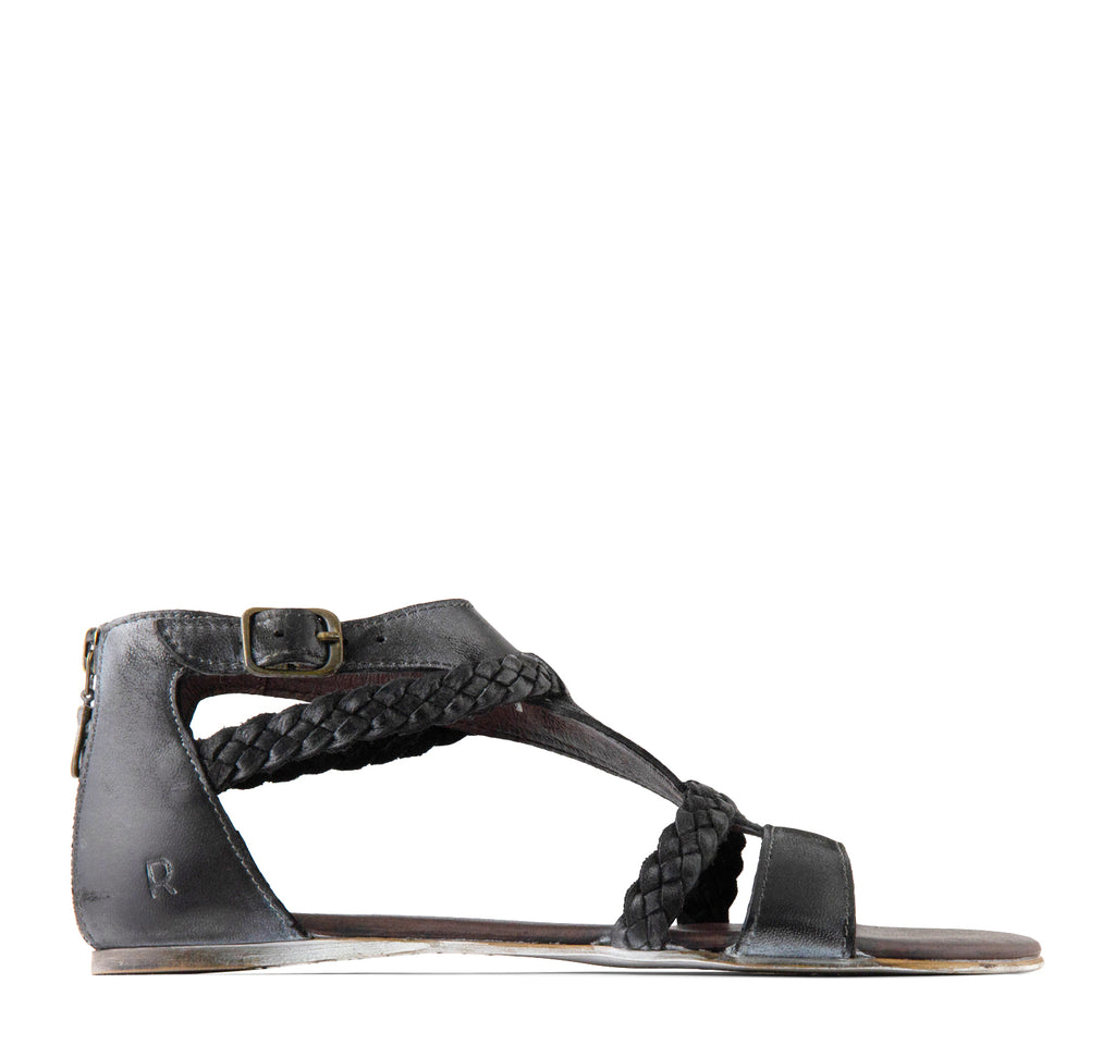 ROAN Posey Sandal in Black - ROAN - On The EDGE