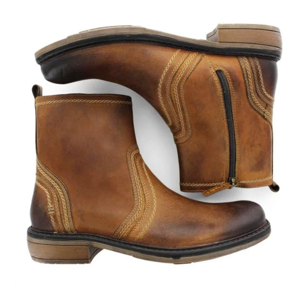 ROAN Crestone Boot in Tan Burnished