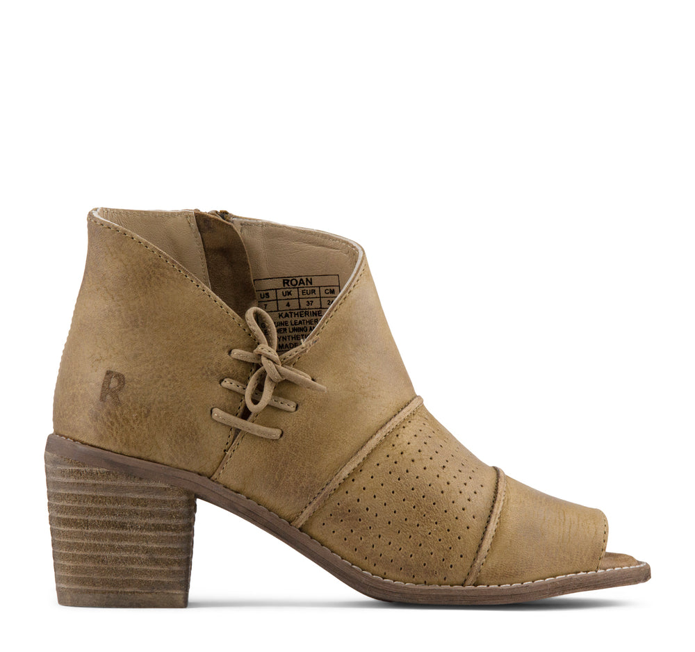ROAN Katherine Boot in Tan - ROAN - On The EDGE
