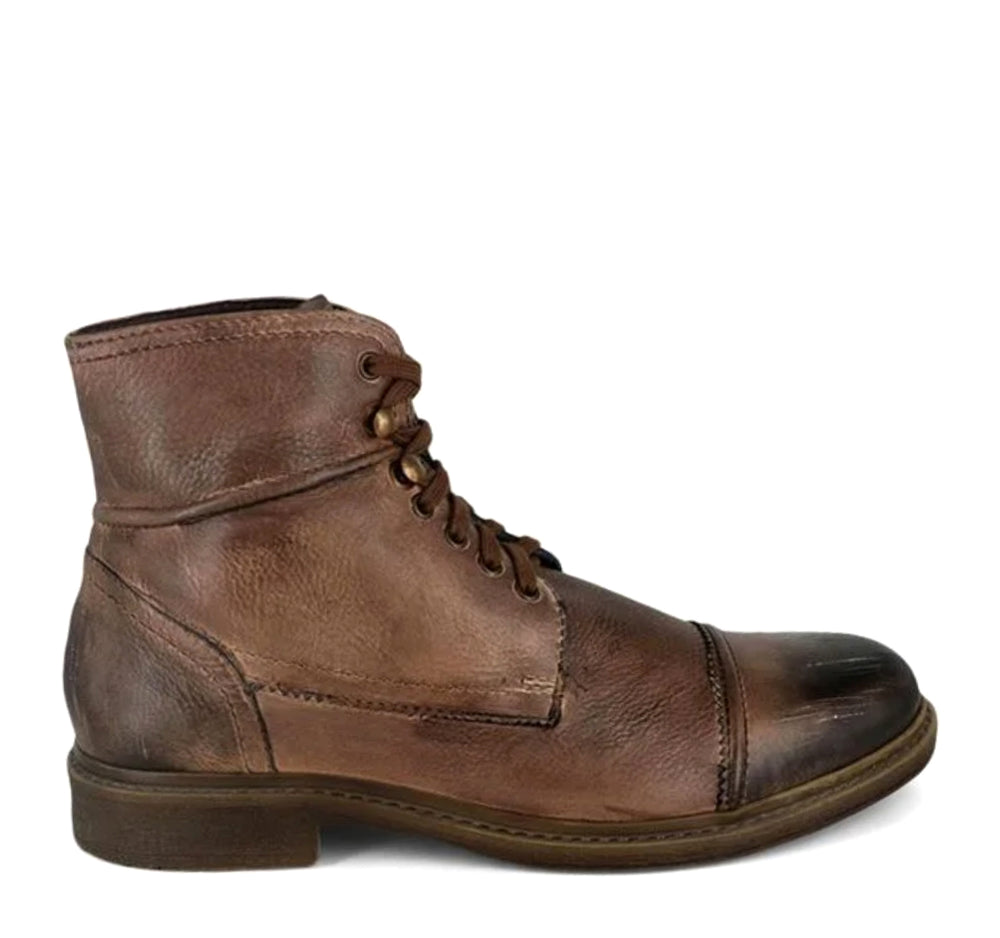 ROAN Trey Boot in Tan Black Scorched
