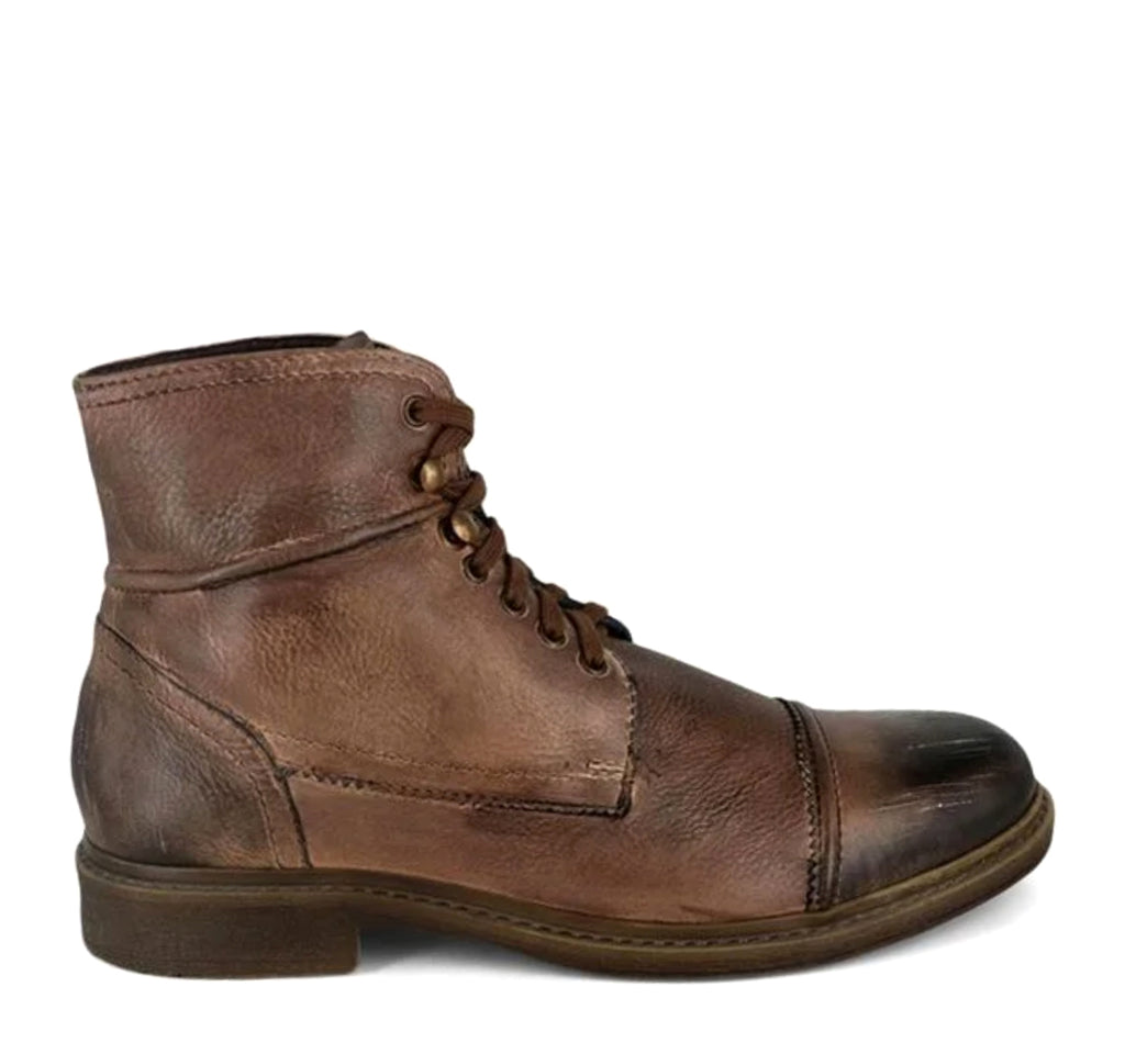ROAN Trey Boot in Tan Black Scorched - ROAN - On The EDGE