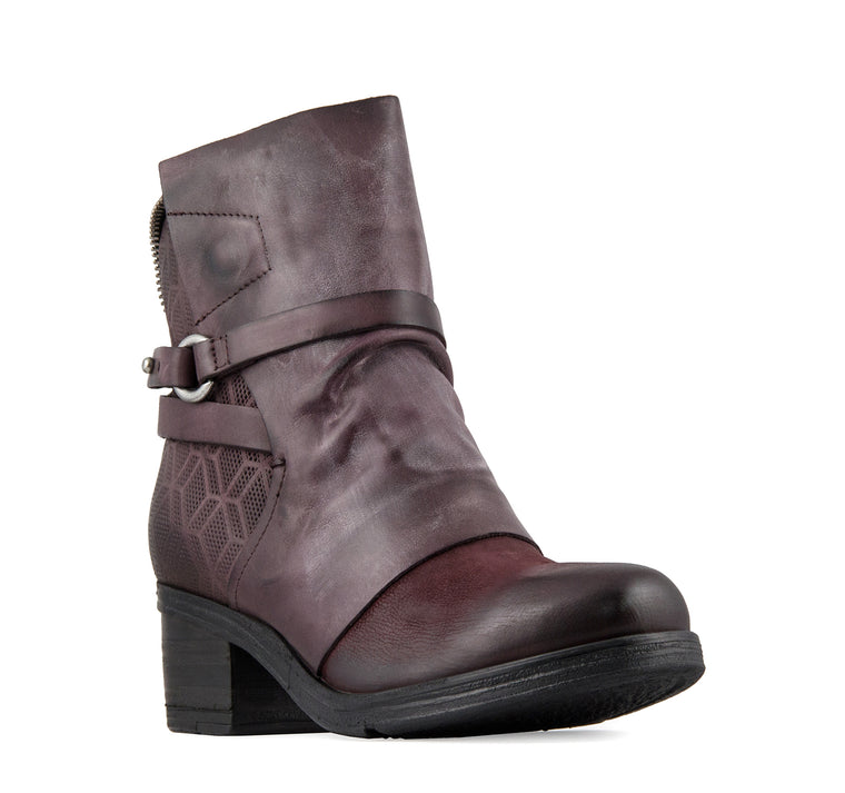 Miz Mooz Salma Boot Women's - Eggplant - Miz Mooz - On The EDGE