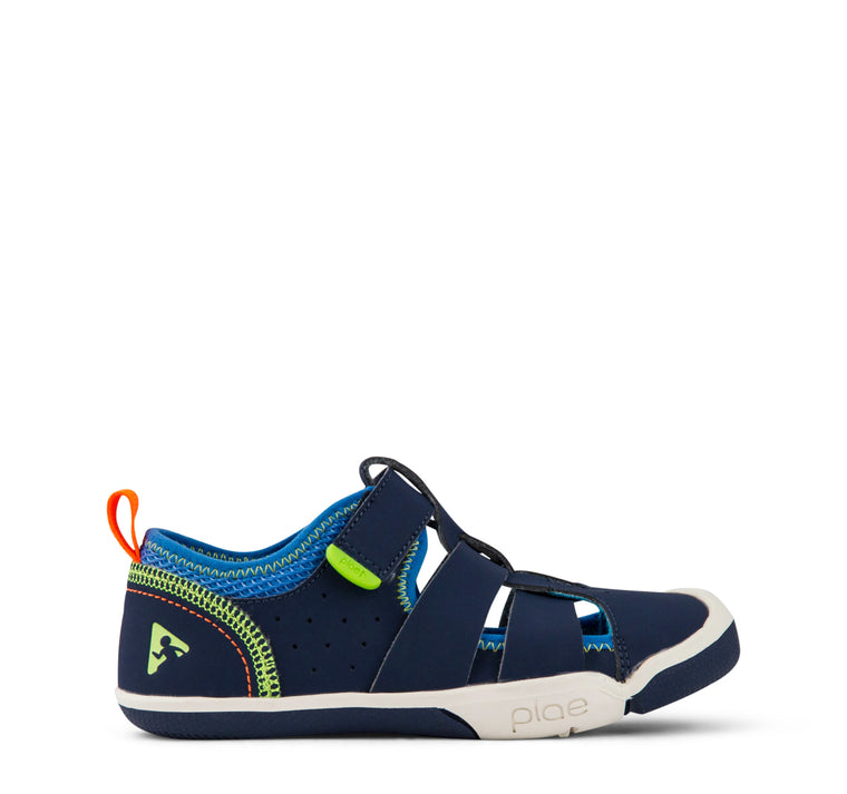 Plae Sam 2.0 Sandal Kids - Navy