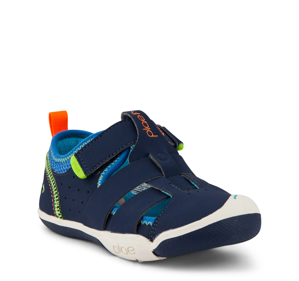 Plae Sam 2.0 Sandal in Navy - Plae - On The EDGE