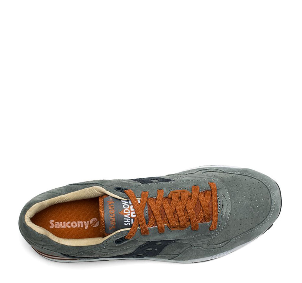 Saucony Shadow 5000 Weathered in Steel and Rust - Saucony - On The EDGE