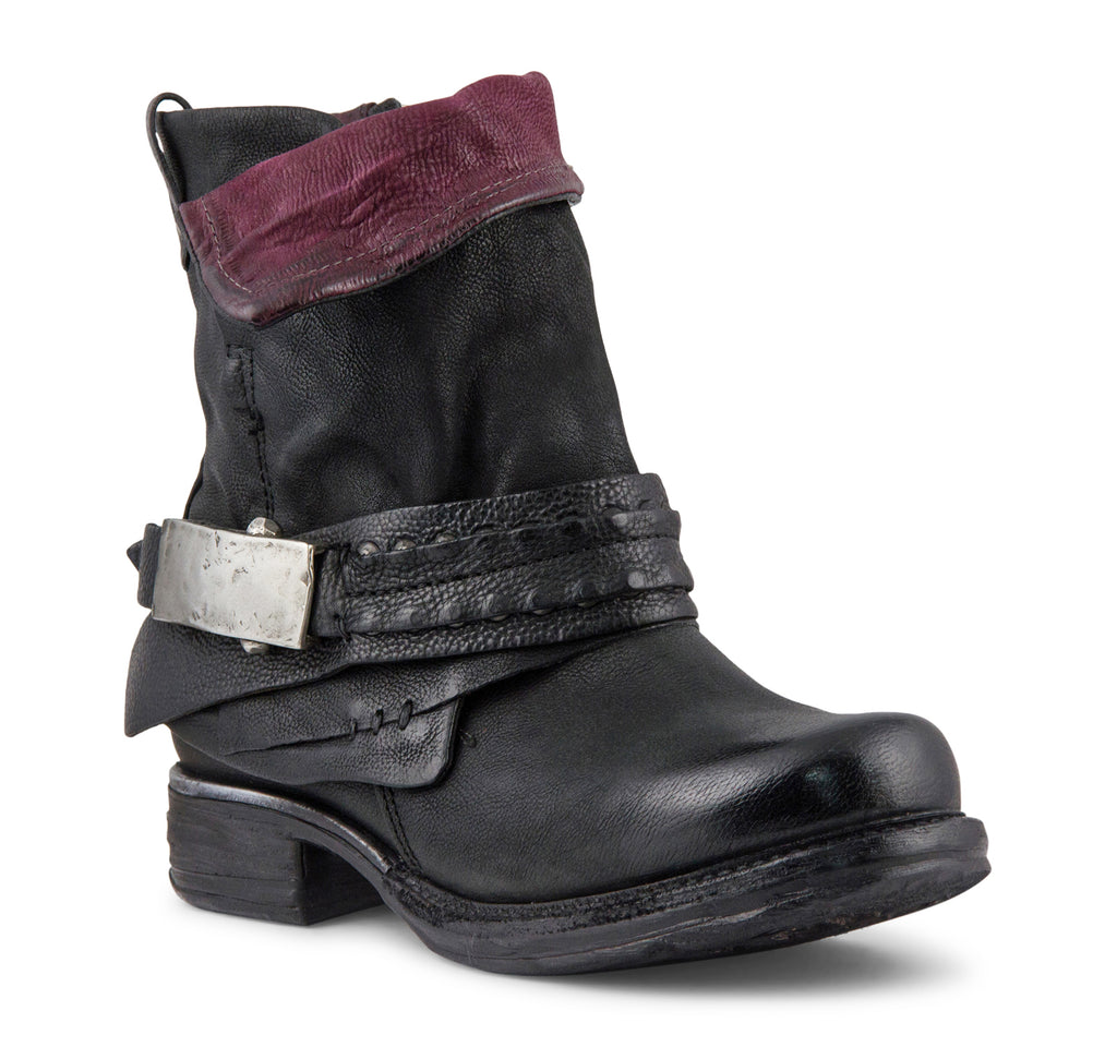 A.S.98 Sebastian Boot in Black - A.S. 98 - On The EDGE