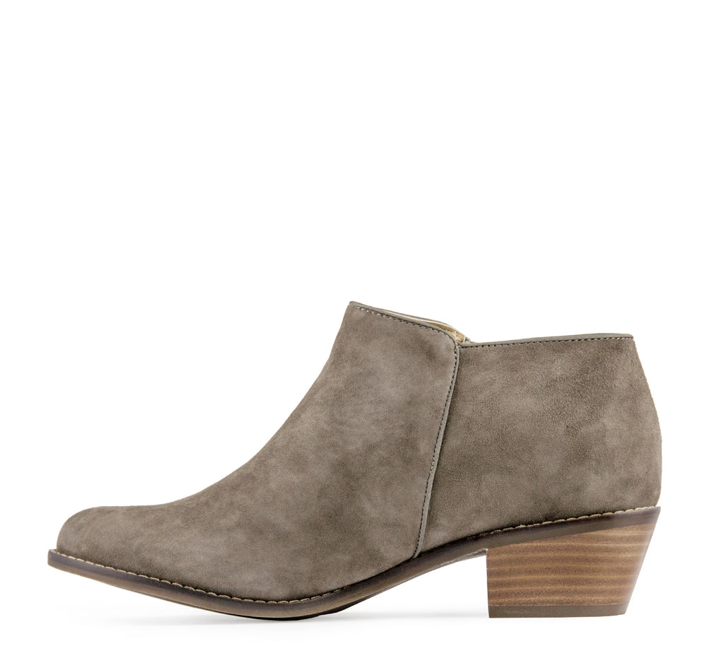 Vionic Joy Serena Boot in Greige - Vionic - On The EDGE