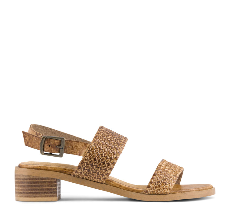 Seychelles Bring It Back Sandal in Tan Leather