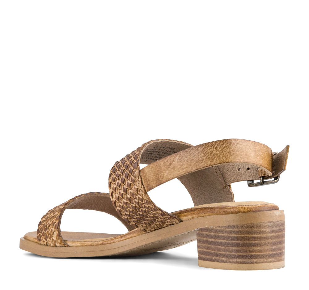 Seychelles Bring It Back Sandal in Tan Leather - Seychelles - On The EDGE