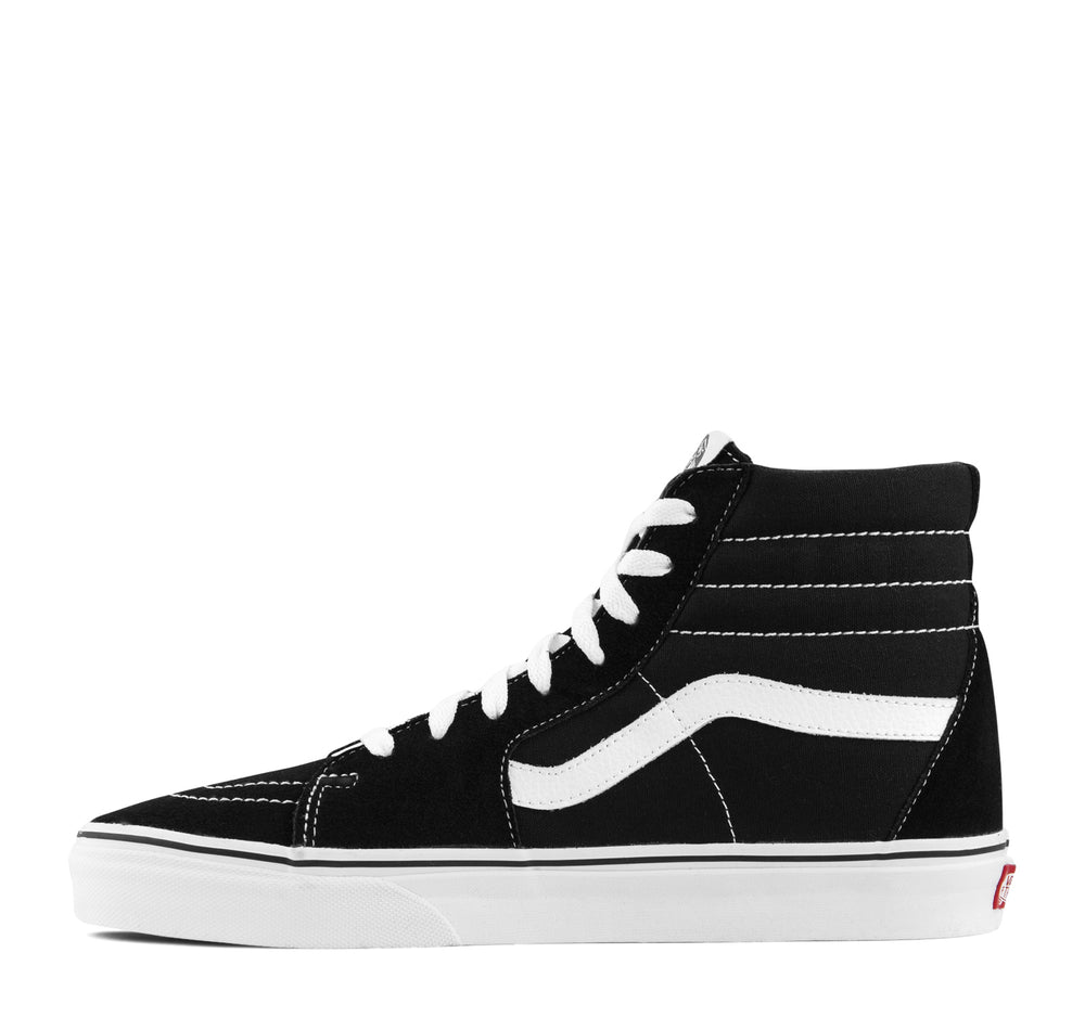 Vans SK8-Hi Sneaker in Black and White - Vans - On The EDGE