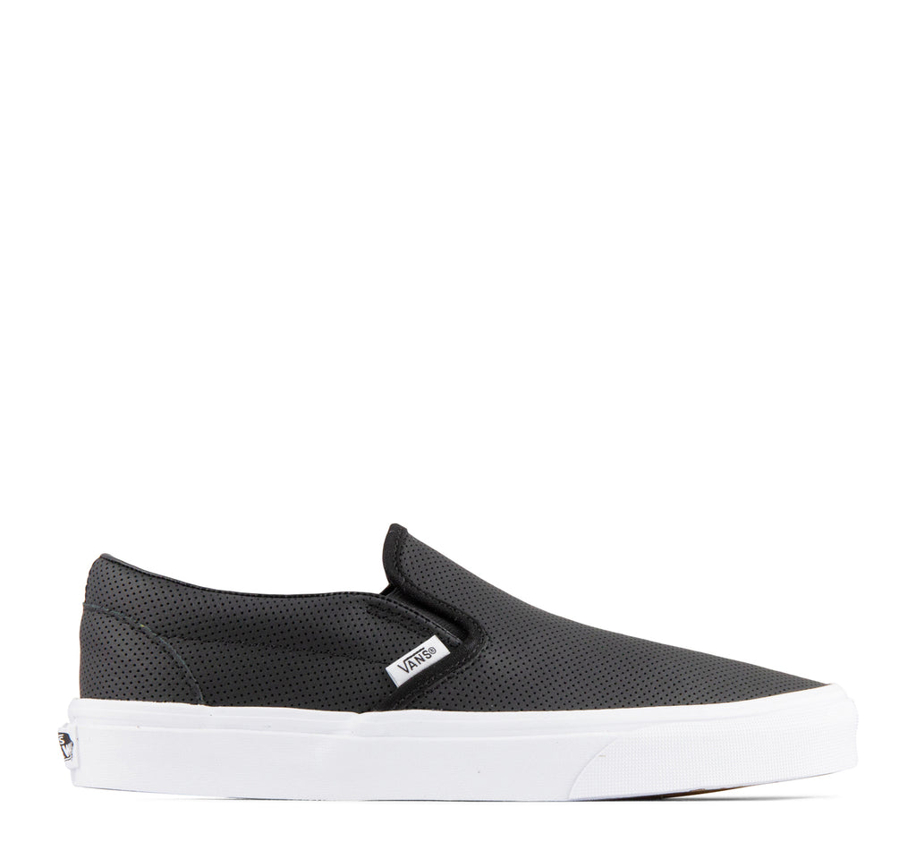 Vans Classic Slip-On Perf Leather Sneaker - On The EDGE