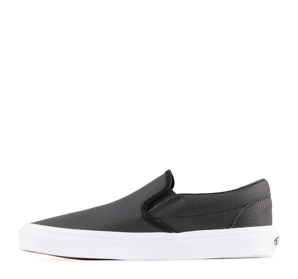 Vans Classic Slip-On Perf Leather Sneaker - Vans - On The EDGE