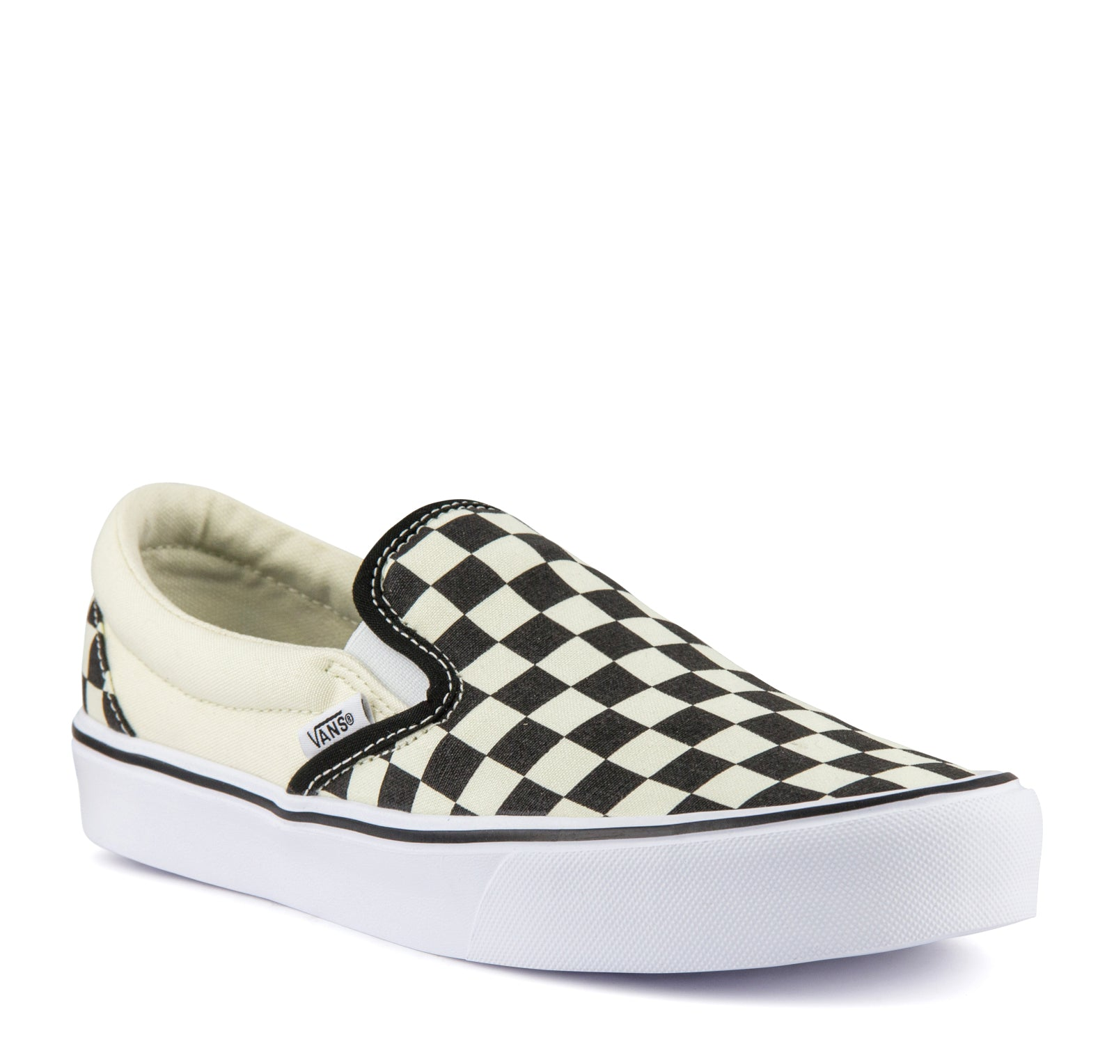 92bc24e5cdecab Vans Slip-On Lite Sneaker in Checkerboard – On The EDGE