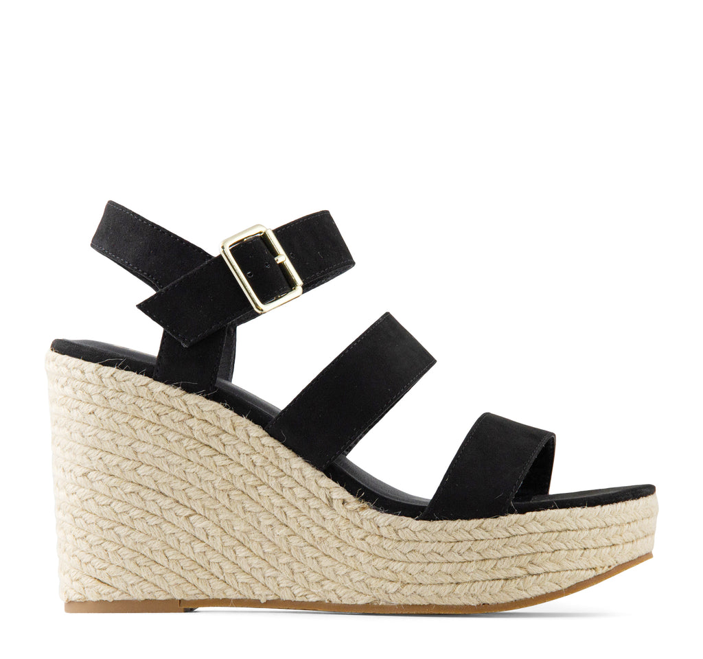 BC Footwear Snack Bar Espadrille Wedge Sandal - On The EDGE
