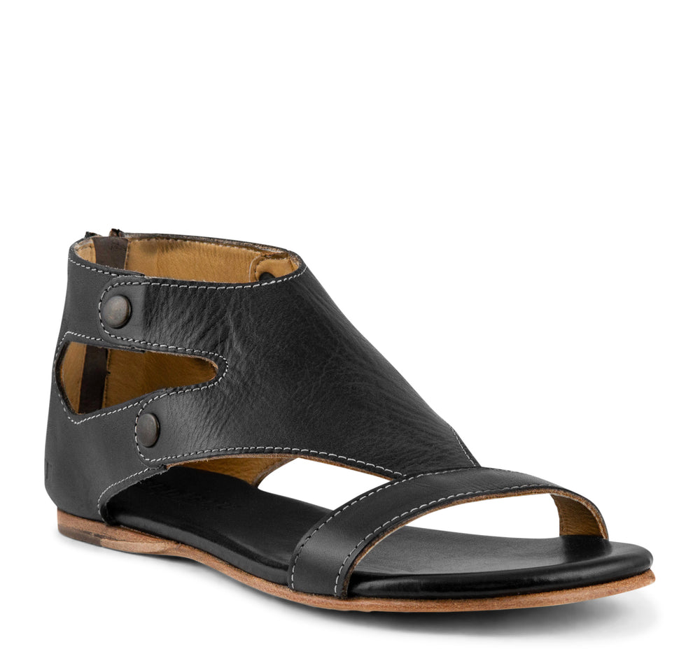 Bed Stu Soto Women's Sandal in Black Rustic - Bed Stu - On The EDGE