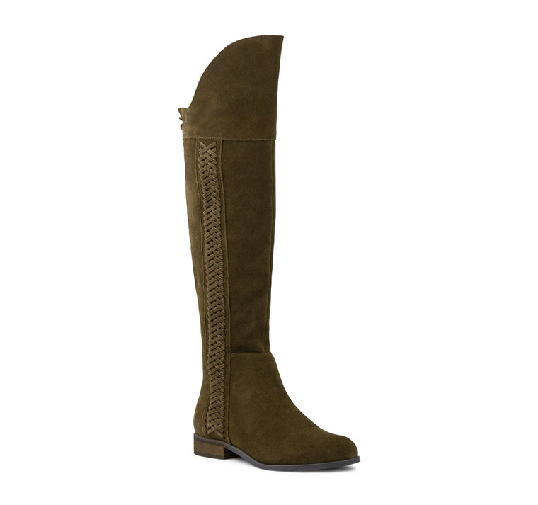 Sbicca Spokane Tall Boot Women's - Khaki - Sbicca - On The EDGE