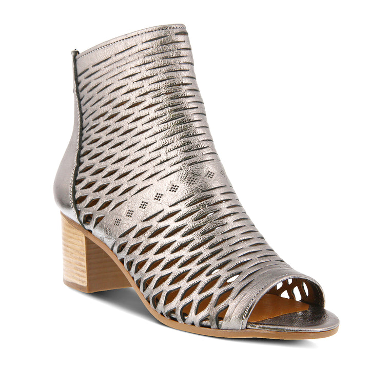 Spring Step Awow Women's Sandal in Pewter