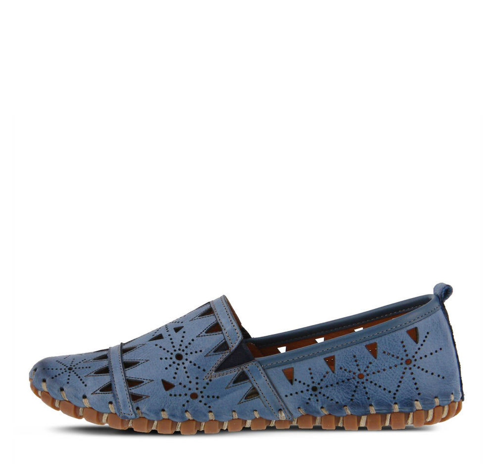 Spring Step Fusaro Loafer in Blue - Spring Step - On The EDGE