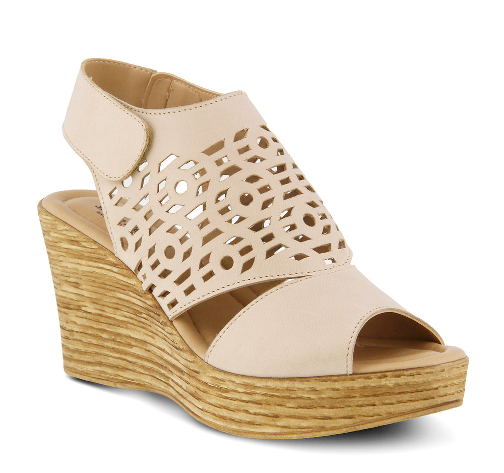 Spring Step Rokshana Sandal in Light Beige - Spring Step - On The EDGE
