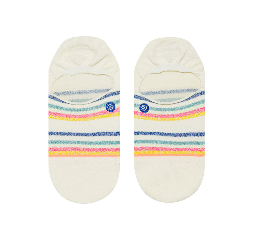 Stance Super Invisible 2.0 Butter Blend Women's Socks in Candy Stripe - Stance - On The EDGE