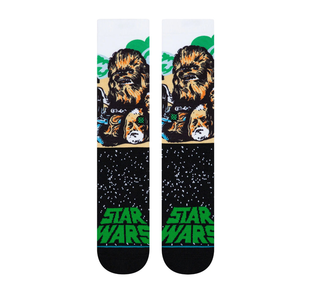 Stance Classic Crew Men's Socks in Chewbacca - Stance - On The EDGE