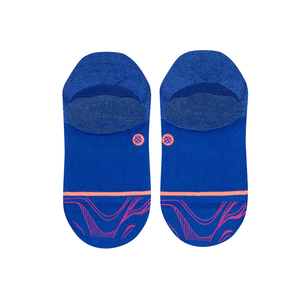 Stance Super Invisible 2.0 Socks in Fluid Blue - Stance - On The EDGE