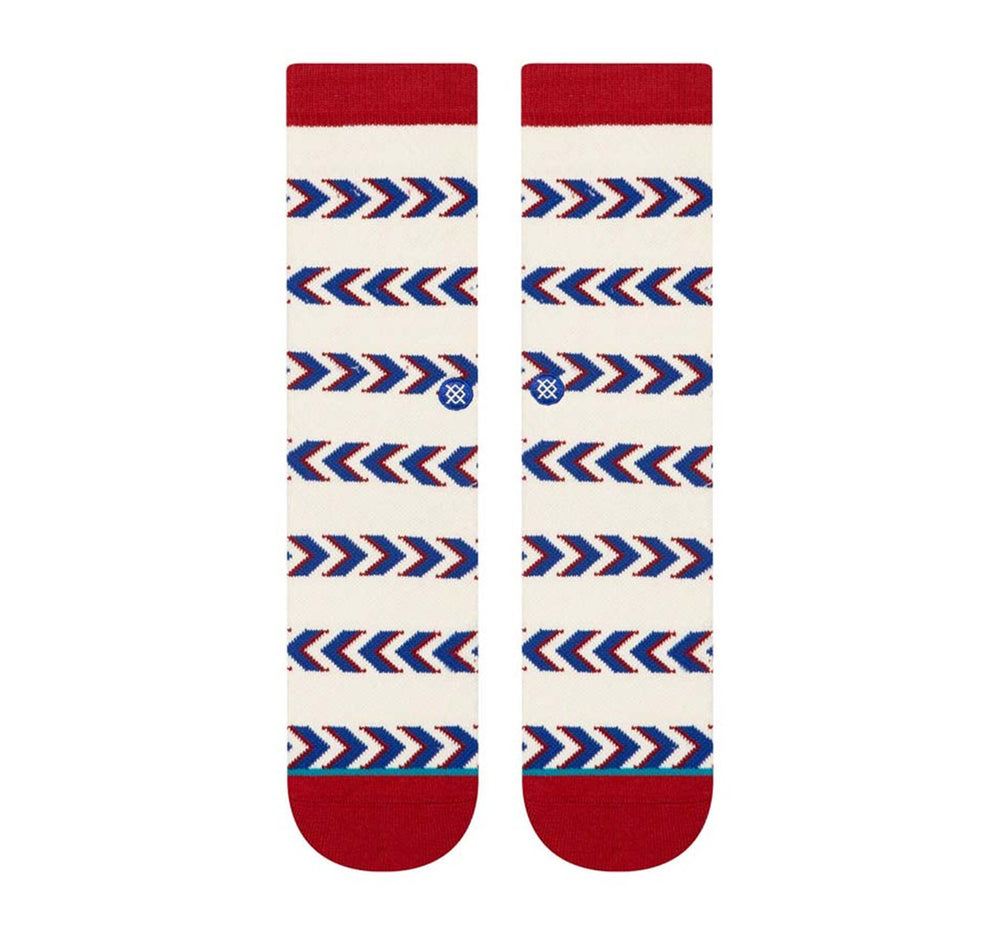 Stance Classic Crew Socks in Friendship Stripe - Stance - On The EDGE