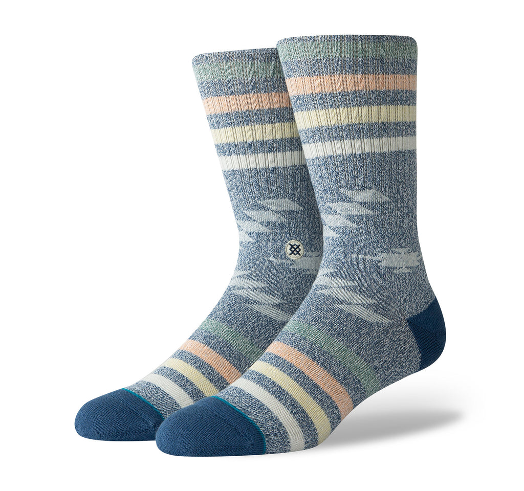 Stance Classic Crew Butter Blend Men's Socks in Hitch Hiker Navy