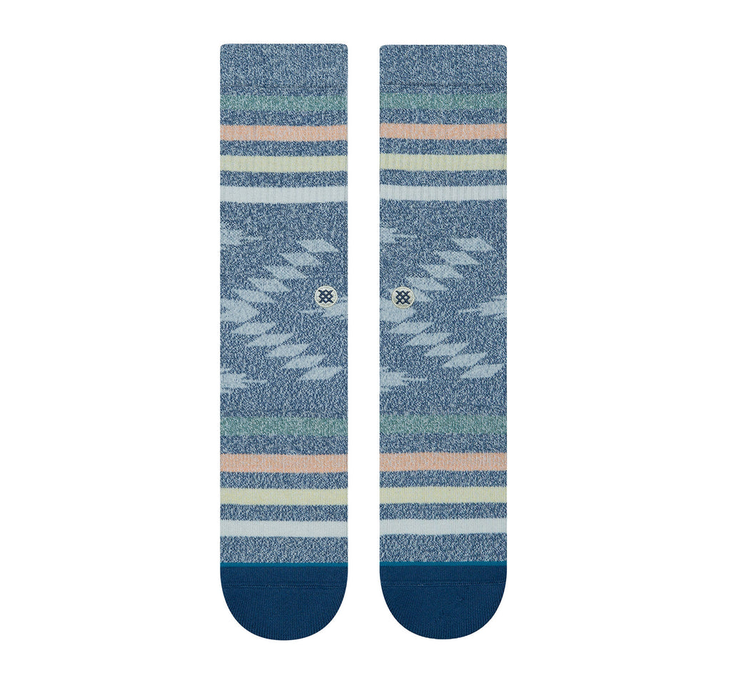 Stance Classic Crew Butter Blend Men's Socks in Hitch Hiker Navy - Stance - On The EDGE