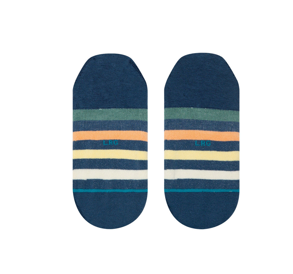 Stance Invisible Men's Socks in Hitch Hiker Low Navy - Stance - On The EDGE