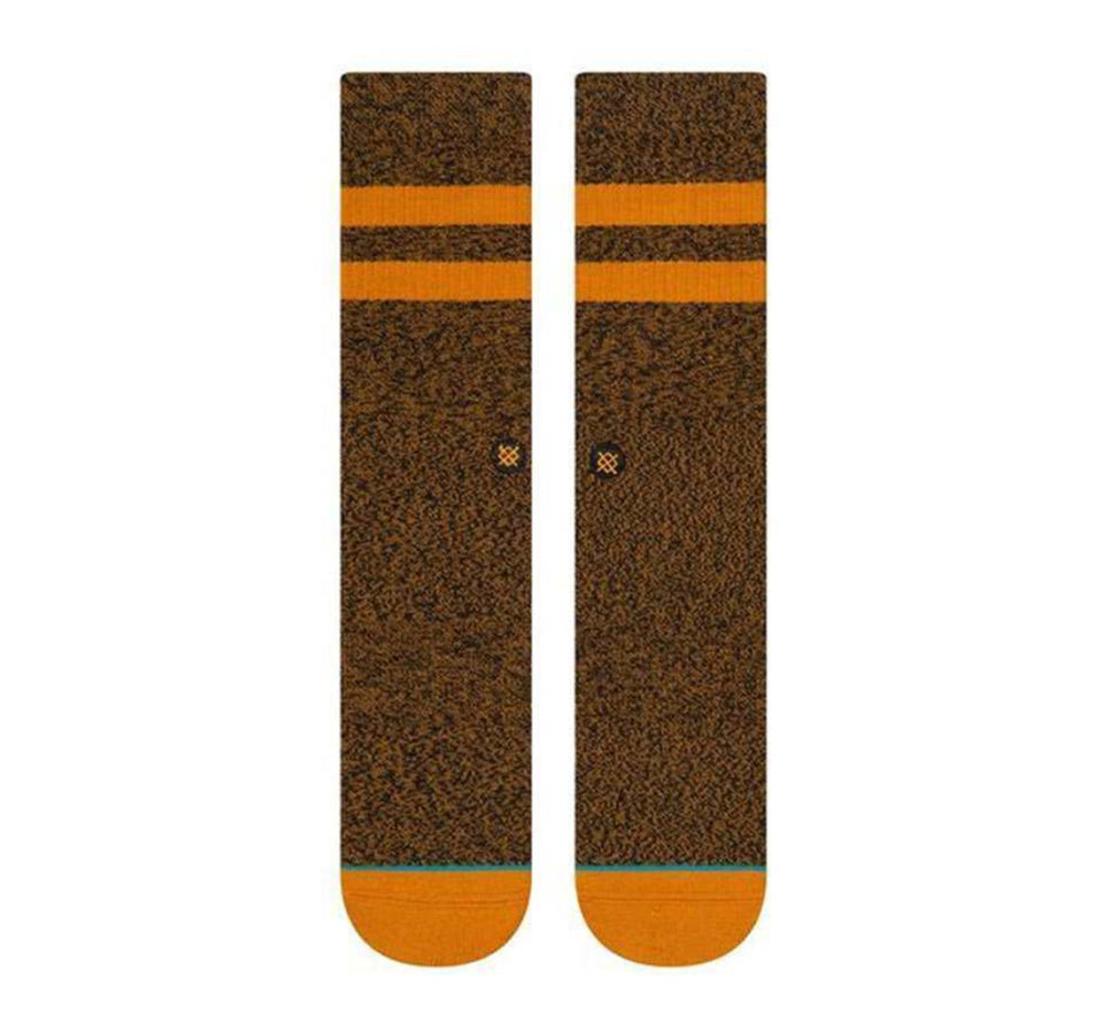 Stance Classic Crew Socks in Joven Dark Khaki - Stance - On The EDGE