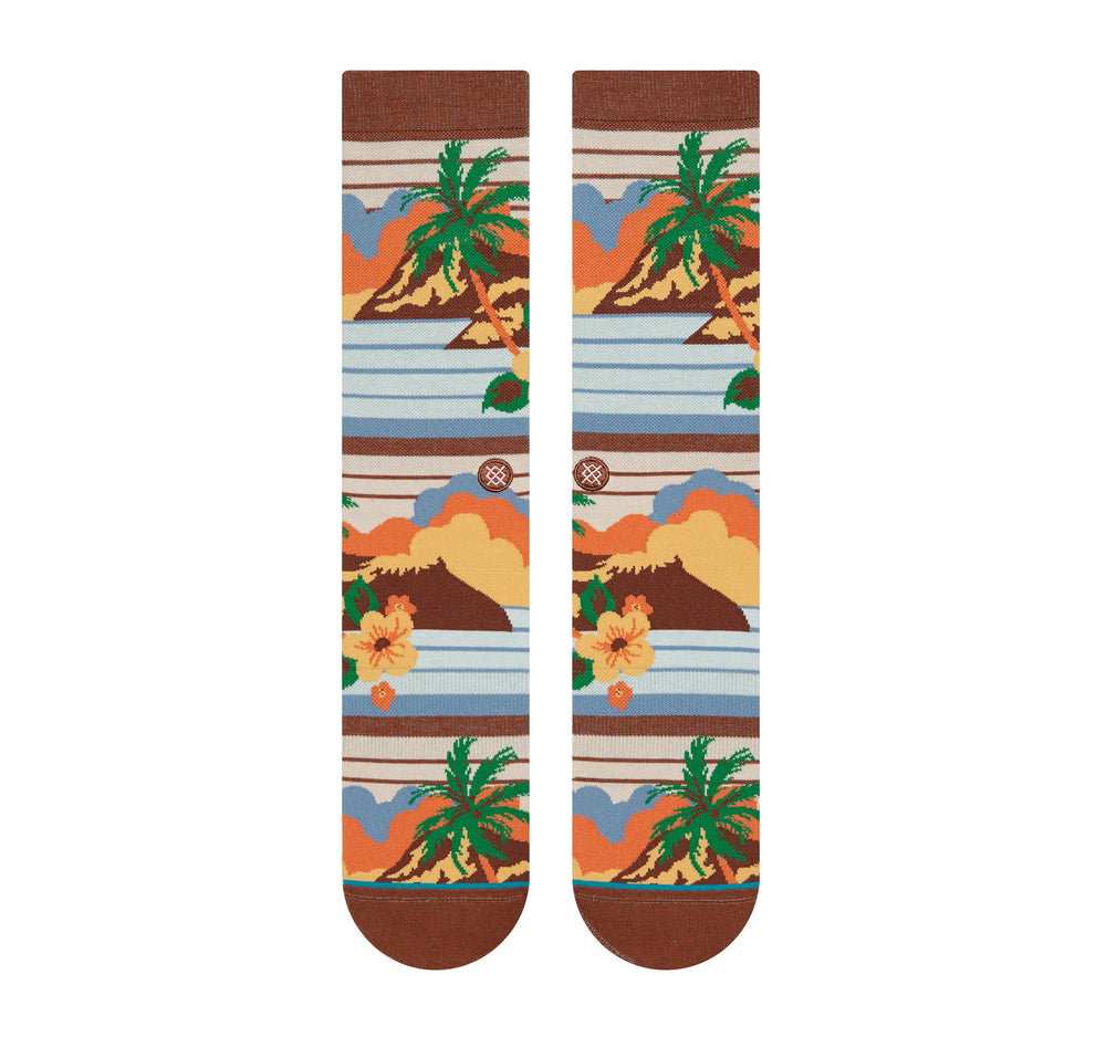 Stance Everyday Crew Men's Socks in Kekaha - Stance - On The EDGE