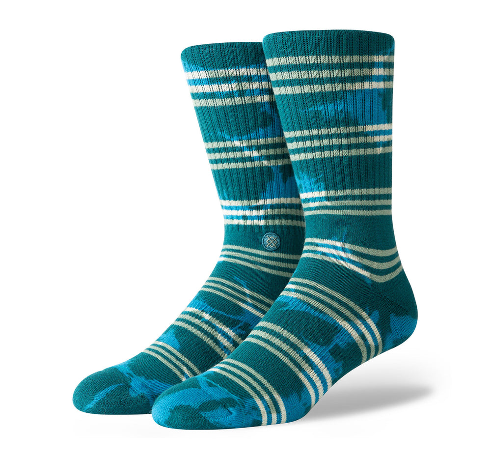 Stance Classic Crew Socks in Kurt Green - Stance - On The EDGE