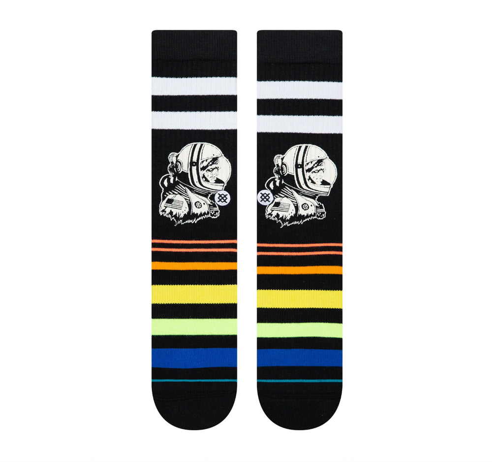 Stance Classic Crew Socks in Moon Man - Stance - On The EDGE