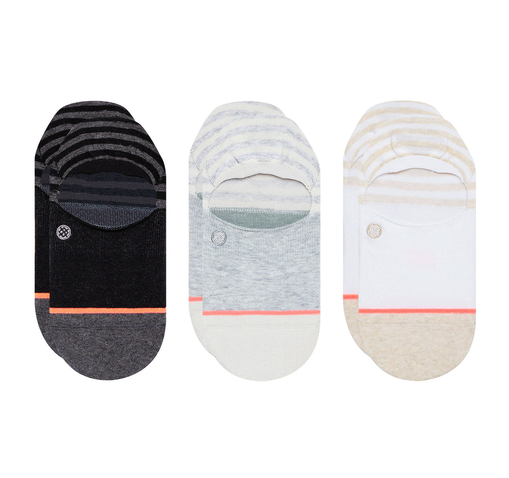 Stance Super Invisible 2.0 Socks Sensible 3 Pack - Stance - On The EDGE