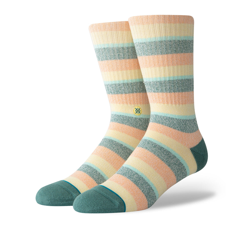 Stance Classic Crew Butter Blend Men's Socks in Sliced Melon
