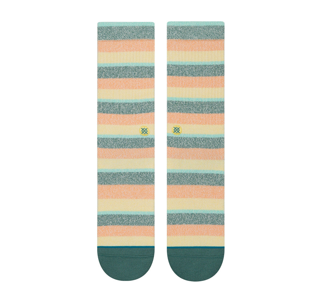 Stance Classic Crew Butter Blend Men's Socks in Sliced Melon - Stance - On The EDGE
