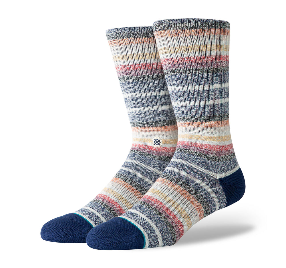 Stance Classic Crew Butter Blend Men's Socks in Thirri Navy - Stance - On The EDGE