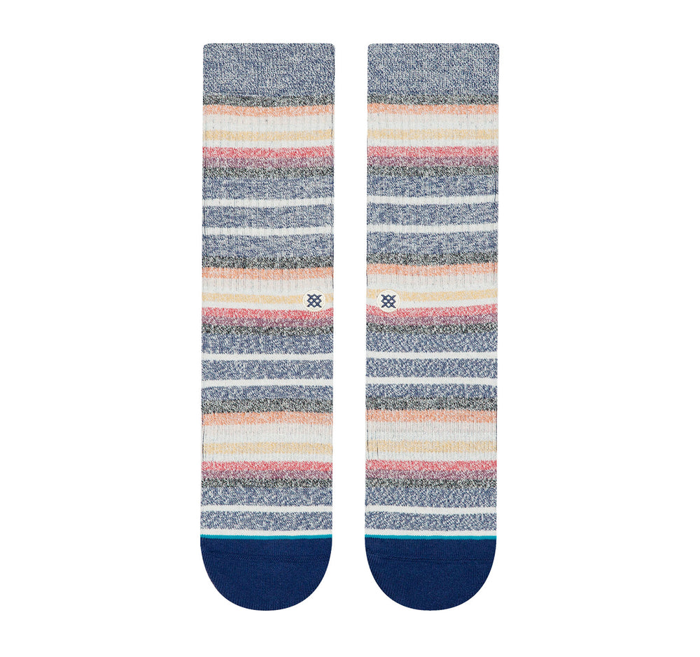 Stance Classic Crew Butter Blend Men's Socks in Thirri Navy