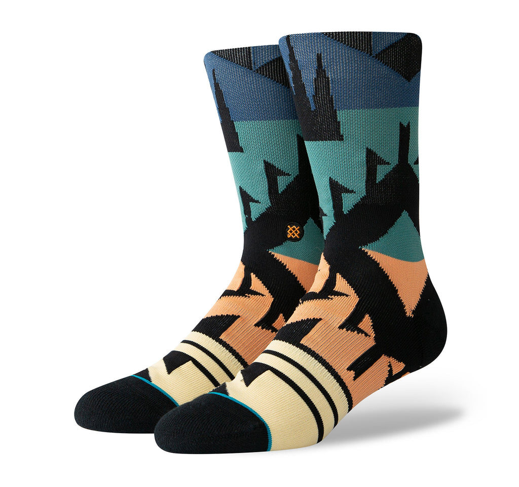 Stance Classic Crew Men's Socks in Zuma