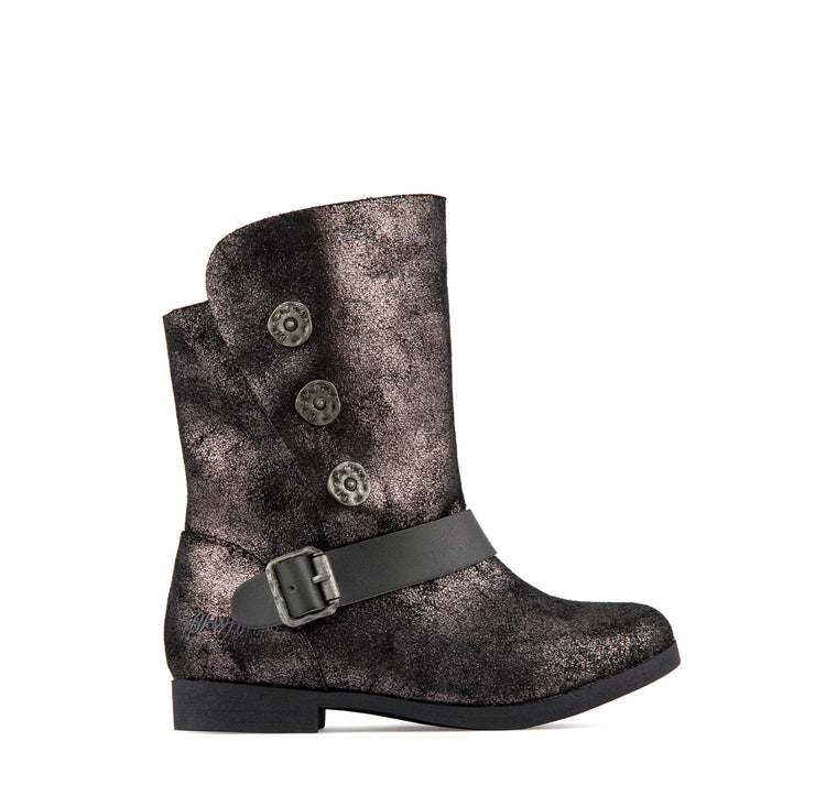 Blowfish Stassies Girls' Boot in Gunmetal