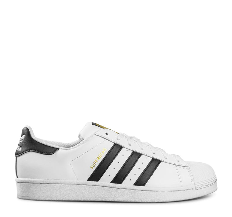 Adidas Superstar C77124 Sneaker in White and Black