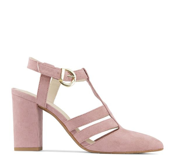 BC Footwear Terrace Vegan Women's Heel in Rose - BC Footwear by Seychelles - On The EDGE