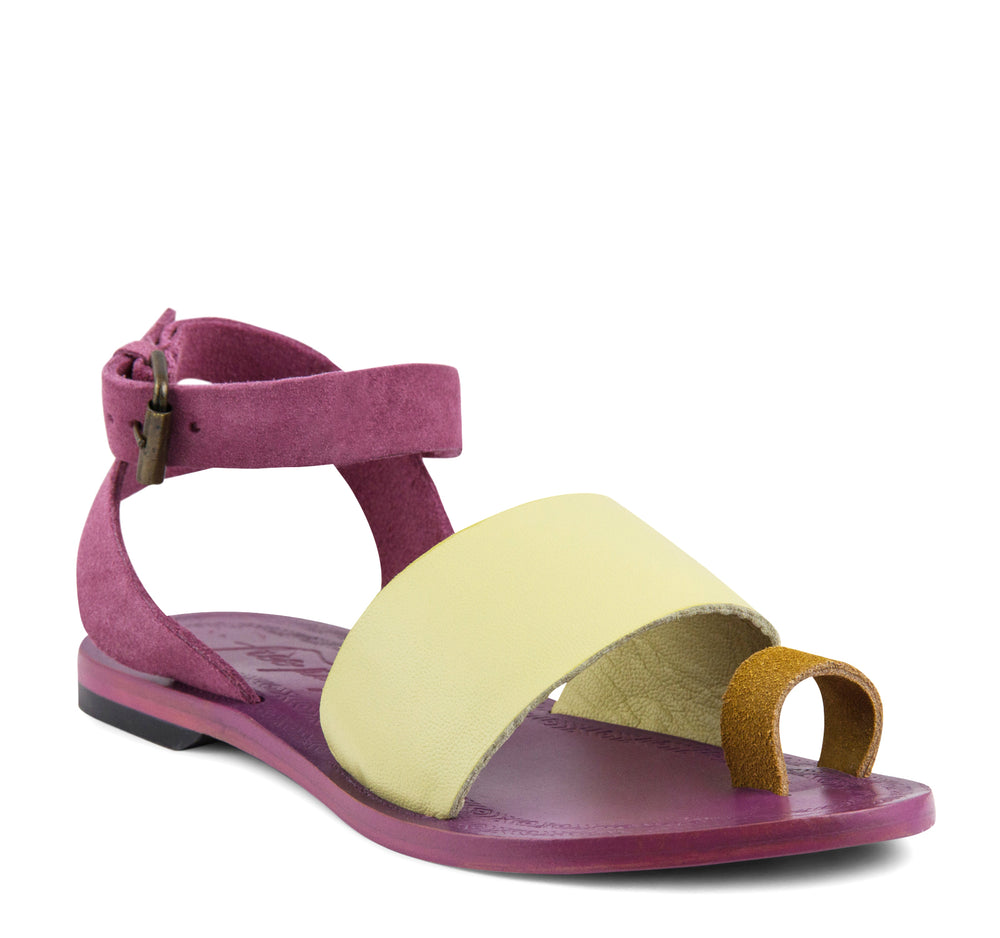 Free People Torrence Women's Flat Sandal in Pink - Free People - On The EDGE