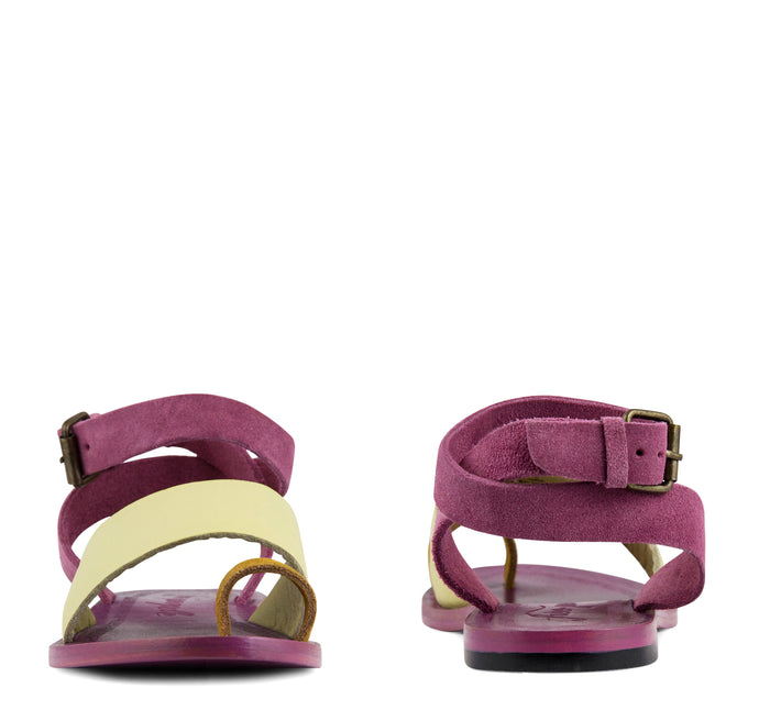 Free People Torrence Flat Sandal Women's - Pink - Free People - On The EDGE