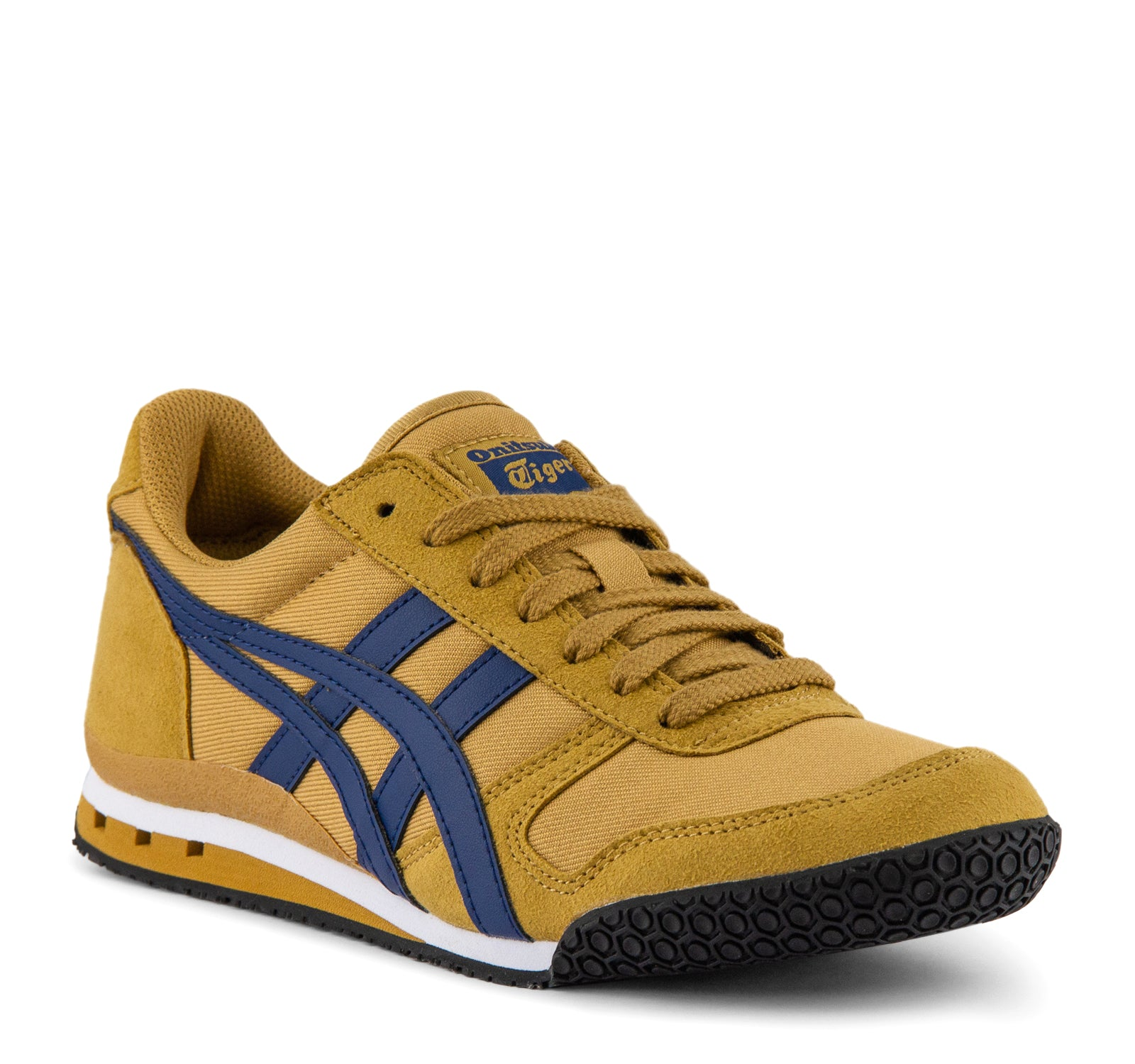 low priced 619e0 028ea Onitsuka Tiger Ultimate 81 Sneaker in Caravan and Blue – On ...