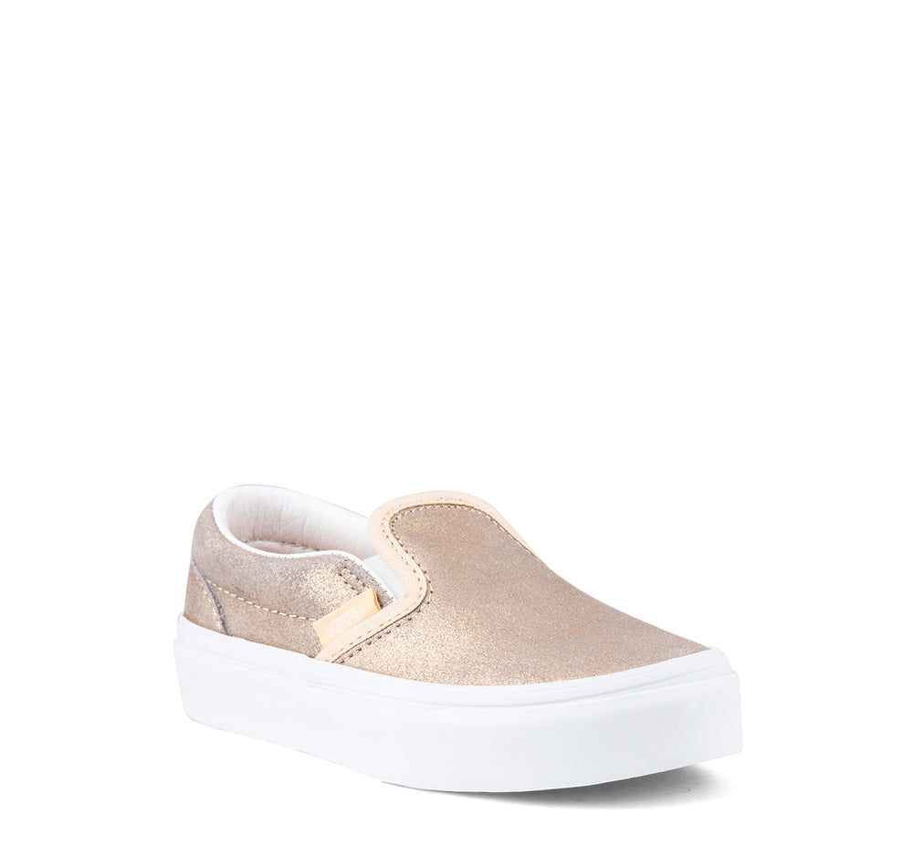 Vans Classic Slip-On Kids in Rose Gold - Vans - On The EDGE