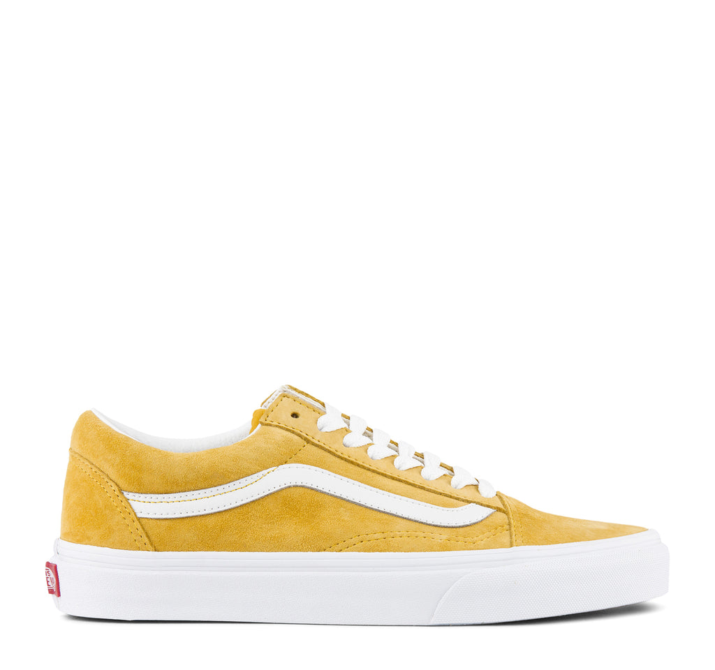Vans Old Skool Pig Suede Sneaker in Mango Mojito - Vans - On The EDGE